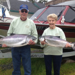 Dan & Carol Brown from Woodburn, OR had a fun day on the Rogue on May 3rd