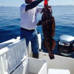 Les Craig needs your help to land the next monster Lingcod! May 14 on Pacific Pond