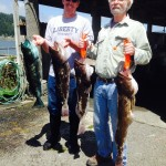 Limits daily of Lingcod and rock fish for Mark and Mike. 5/15 & 5/16