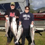 Terry & Dee Ann Sullivan with their LIMITS of Rogue Spring Chinook on Friday April 25